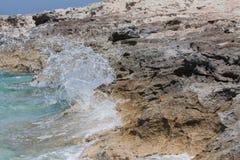 Στην παραλία Ses Illetes Στοκ Εικόνες