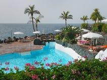Στην παραλία Tenerife Στοκ φωτογραφία με δικαίωμα ελεύθερης χρήσης