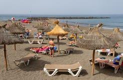 Στην παραλία Tenerife Στοκ Εικόνες