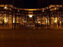 Στην περιοχή Antigone του Μονπελιέ - της Γαλλίας Στοκ φωτογραφίες με δικαίωμα ελεύθερης χρήσης