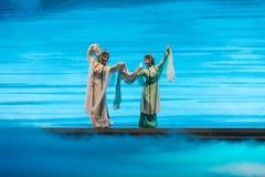 """Στην πρακτική αθάνατος-Kunqu Opera""""Madame άσπρο Snake† Στοκ Φωτογραφία"""