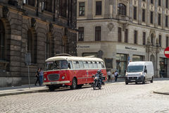 Στην πόλη Στοκ Εικόνες