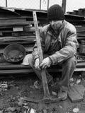 Στηργμένος ανθρακωρύχος Στοκ Φωτογραφία
