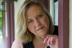 στηργμένος γυναίκα χεριών Στοκ εικόνα με δικαίωμα ελεύθερης χρήσης