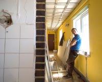 στηργμένος εργαζόμενος &kap στοκ φωτογραφία