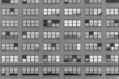 Στηριγμένος τον τοίχο σε μια οδό στο Σικάγο κεντρικός Στοκ Εικόνες