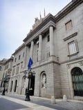 Στηριγμένος Plaza de Λα Constitucion, Βαρκελώνη Στοκ Φωτογραφία