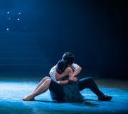 Στηριχθείτε -σύγχρονος χορός Στοκ Φωτογραφίες