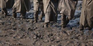 Στη λάσπη Στοκ εικόνα με δικαίωμα ελεύθερης χρήσης