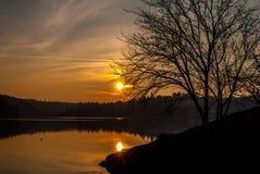 Στη λίμνη Στοκ Φωτογραφίες