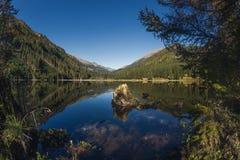 Στη λίμνη Ingeringsee στην Αυστρία Στοκ Εικόνες
