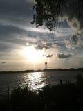 Στη βάρκα, σημείο Messick Στοκ εικόνα με δικαίωμα ελεύθερης χρήσης