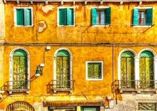 Στη Βενετία στην Ιταλία στοκ φωτογραφία με δικαίωμα ελεύθερης χρήσης