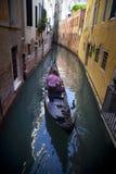 Στη Βενετία, στο μεγάλο κανάλι, Ιταλία Στοκ φωτογραφίες με δικαίωμα ελεύθερης χρήσης