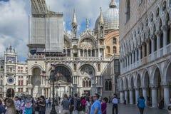 Στη Βενετία Στοκ φωτογραφίες με δικαίωμα ελεύθερης χρήσης