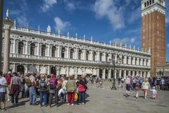 Στη Βενετία Στοκ Εικόνες
