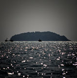 Στη θάλασσα στοκ εικόνα με δικαίωμα ελεύθερης χρήσης