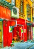 Στη Ιστανμπούλ στην Τουρκία Στοκ φωτογραφίες με δικαίωμα ελεύθερης χρήσης