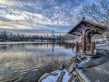 Στη λίμνη Στοκ Φωτογραφία