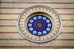 Στη μεγάλη συναγωγή Dohany Στοκ εικόνες με δικαίωμα ελεύθερης χρήσης