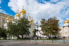 Στη Μόσχα Κρεμλίνο Στοκ εικόνα με δικαίωμα ελεύθερης χρήσης