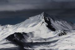 Στη σειρά βουνών Arves, στις γαλλικές Άλπεις στοκ εικόνα με δικαίωμα ελεύθερης χρήσης