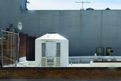 Στη στέγη Στοκ Φωτογραφίες