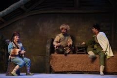 """Στη """"Taking τίγρη Montain οπερών συμβουλευτικός-Πεκίνου πατέρων και κορών από Strategy† Στοκ Εικόνα"""