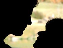 στιγμή αγάπης Στοκ εικόνα με δικαίωμα ελεύθερης χρήσης