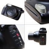 Στιγμιαία κάμερα Στοκ φωτογραφίες με δικαίωμα ελεύθερης χρήσης