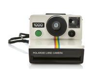Στιγμιαία κάμερα Polaroid στοκ φωτογραφίες