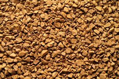 στιγμιαία σκόνη καφέ Στοκ Φωτογραφία