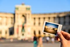 Στιγμιαία φωτογραφία του παλατιού Hofburg Στοκ φωτογραφίες με δικαίωμα ελεύθερης χρήσης