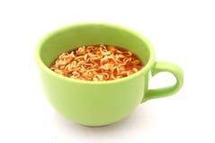 στιγμιαία noodle σούπα Στοκ φωτογραφία με δικαίωμα ελεύθερης χρήσης