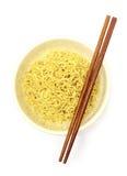 στιγμιαία noodles Στοκ Φωτογραφία