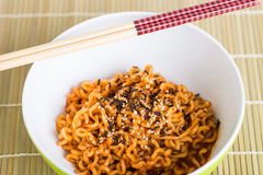 στιγμιαία noodles Στοκ Εικόνα