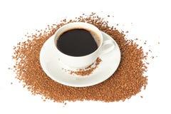 Στιγμιαίος καφές στοκ φωτογραφίες με δικαίωμα ελεύθερης χρήσης