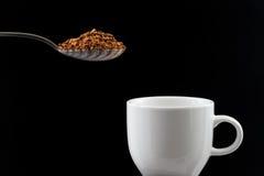 Στιγμιαίος καφές στοκ εικόνα