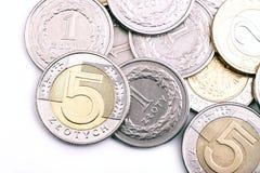στιλβωτική ουσία νομίσμα& Στοκ φωτογραφία με δικαίωμα ελεύθερης χρήσης