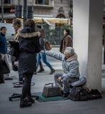 Στιλβωτικό παπουτσιών, Μπουένος Άιρες Στοκ Εικόνες