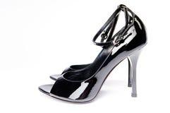 στιλπνά παπούτσια ζευγαρ Στοκ εικόνες με δικαίωμα ελεύθερης χρήσης