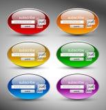 στιλπνός γκρίζος κουμπιών ανασκόπησης Στοκ Φωτογραφία