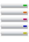 στιλπνός Ιστός κουμπιών Στοκ φωτογραφία με δικαίωμα ελεύθερης χρήσης