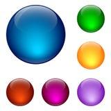 στιλπνό σύνολο κουμπιών διανυσματική απεικόνιση