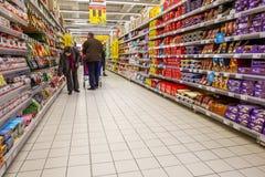 Στις αγορές Στοκ φωτογραφίες με δικαίωμα ελεύθερης χρήσης