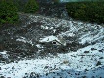 Στις κλίσεις Etna στοκ εικόνες