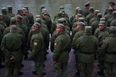 στις 15 Οκτωβρίου του ΒΟΛΓΚΟΓΚΡΑΝΤ â€ «: Στρατιωτική παρέλαση στοκ εικόνες με δικαίωμα ελεύθερης χρήσης