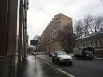 Στις οδούς της Μόσχας 2016 Στοκ Εικόνα