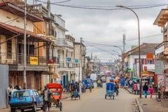 Στις οδούς Antsirabe Στοκ Εικόνες