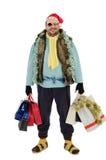Στις πωλήσεις εποχής Χριστουγέννων για τα harbourlesses Στοκ Εικόνα